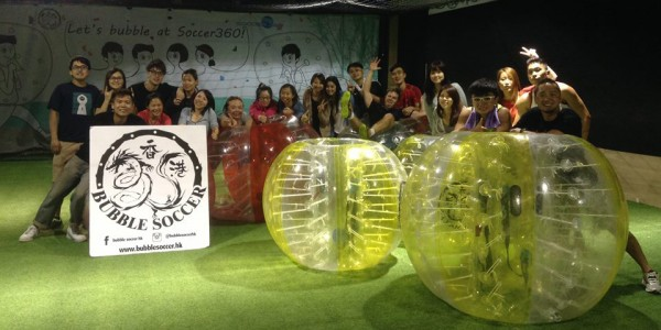【Bubble Soccer Hong Kong】室內足球體驗-泡泡足球Bubble Soccer